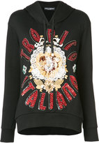 Dolce & Gabbana Tropico Italiano hoodie - women - Cotton/Acrylic/Polyamide/Brass - 38