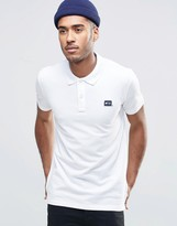 Jack and Jones Pique Polo Shirt with Logo