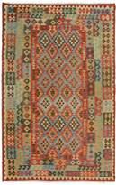 Arshs' Fine Rugs Kilim Arya Arden Flatweave Hand-Woven Wool Southwestern Rug