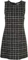 Alice + Olivia Alice+Olivia Coley tweed A-line mini dress