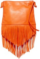 Hobo Meadow Fringe Leather Crossbody