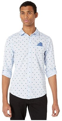 Scotch & Soda Regular Fit - Classic Pocket Shirt with Roll-Up Sleeve (Combo A) Men's Clothing