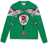 Gucci Unskilled Worker wool sweater