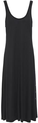 Rag & Bone Allegra Button-detailed Jersey Midi Dress