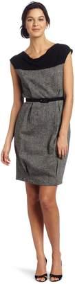 Eva Franco Women's Katelan Tweed Sheath Dress