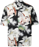 Gold / Toyo Enterprise King of the Sky Hawaiian open shirt