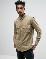 ONLY & SONS Shirt With Military Pockets In Regular Fit