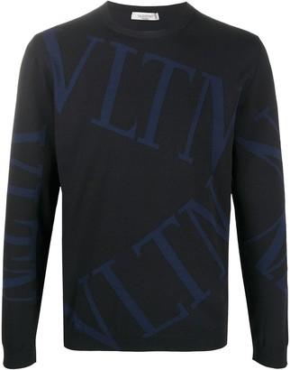 Valentino VLTN-logo jumper