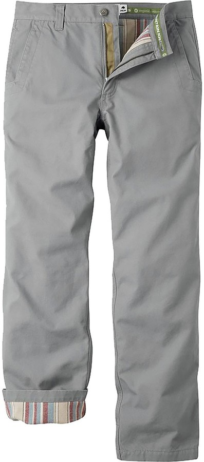 6c0522b45 Mens Flannel Lined Work Pants - ShopStyle
