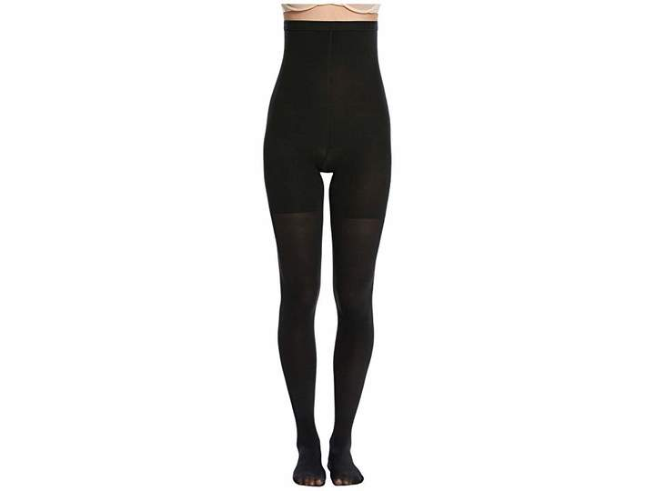 560a98acc3d Spanx Luxe Leg Tights - Black - ShopStyle