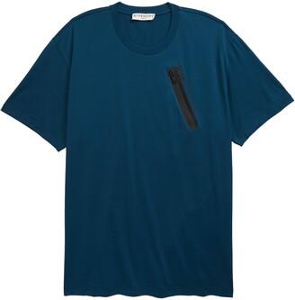 Givenchy Zip Pocket T-Shirt