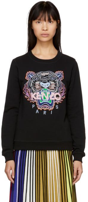 Kenzo Black Tiger Classic Sweatshirt