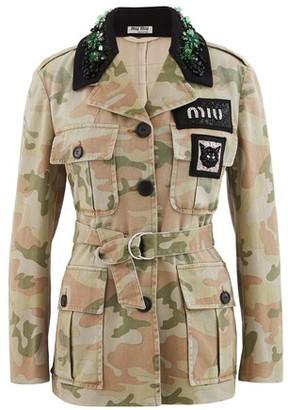 Miu Miu Camo jacket.