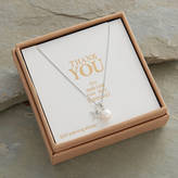 attic Personalised 'Bridesmaid Thank You' Necklace