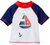 Little Me Sailboat Rashguard Shirt (Baby Boys)