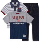 U.S. Polo Assn. Us Polo SS Pant Set