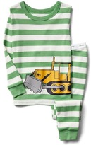 Gap Bulldozer stripe sleep set
