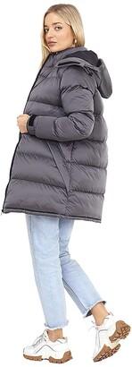 Brave Soul Ladies' Jacket CELLOLONGPKD Toffee UK 8