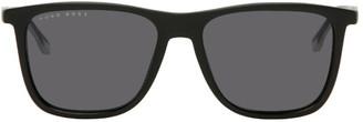 HUGO BOSS Black Rectangular Sunglasses
