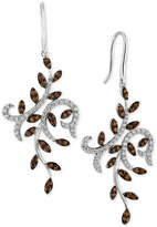 LeVian Le Vian Chocolatier® Diamond Vine Drop Earrings (1-1/2 ct. t.w.) in 14k White Gold