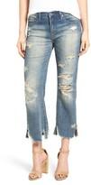 Blank NYC Women's Blanknyc Destroyed Crop Jeans