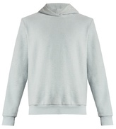Fanmail Cotton-fleece hooded sweatshirt