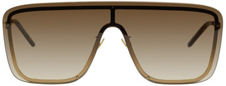 Saint Laurent Gold Mask SL 364 Sunglasses