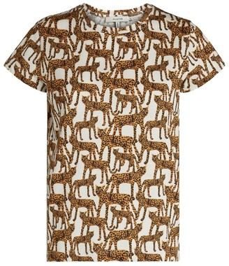 MUNTHE Leopard Print Jeramy T-Shirt