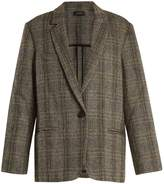 Etoile Isabel Marant Charly single-breasted herringbone blazer