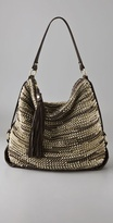 Diane Von Furstenberg Metallic Stephanie Shoulder Bag