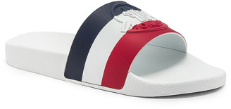 Moncler Sandal in Red & White & Blue | FWRD