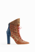 Malone Souliers Larisa Lace-Front Boots