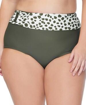 Raisins Curve Trendy Plus Size Mombasa Bikini Bottoms Women's Swimsuit