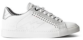 Zadig & Voltaire Women's ZV1747 Studded Sneakers