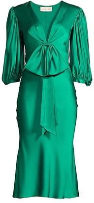 Sachin + Babi Johanna Bow Puff-Sleeve Dress