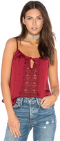 Band of Gypsies Lace Insert Swing Cami