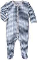 Petit Bateau Star Front Snap Footie (Baby) - Multi-Colored-6 Months