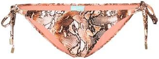 Melissa Odabash Cancun snake-print bikini bottoms