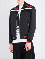 McQ Taigen quilted bomber jacket