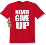 Expression Tees Kids Never Give Up T-Shirt