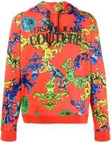 Versace Jeans Couture baroque print hoodie