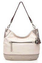 The Sak Indio Sparkle Tasseled Hobo Bag