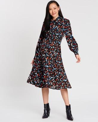 Isabella Oliver Cecelia Maternity Shirt Dress