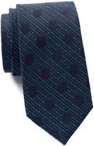 Ben Sherman Silk Stripe & Dot Tie