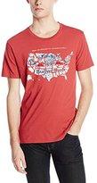 Lucky Brand Men's Budweiser America Graphic T-Shirt