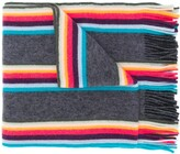 Paul Smith Rainbow Stripe Scarf