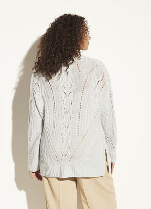 Vince Textured Cable Tunic