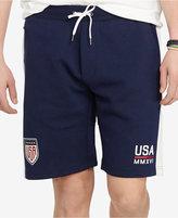 Polo Ralph Lauren Men's USA Double-Knit Drawstring Shorts