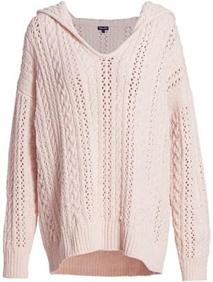 Splendid Chenille Hooded Sweater