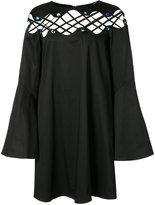 Zac Posen Katerina short lace dress - women - Cotton/Spandex/Elastane - 0